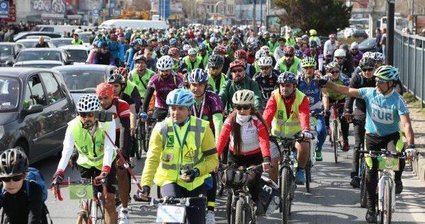 Türkiye'nin dört bir yanında pedallar sağlıklı yaşam için dönecek