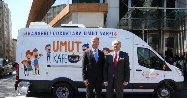 KAÇUV ve Ford Otosan Umut Kafe projesi'ni hayata geçiriyor