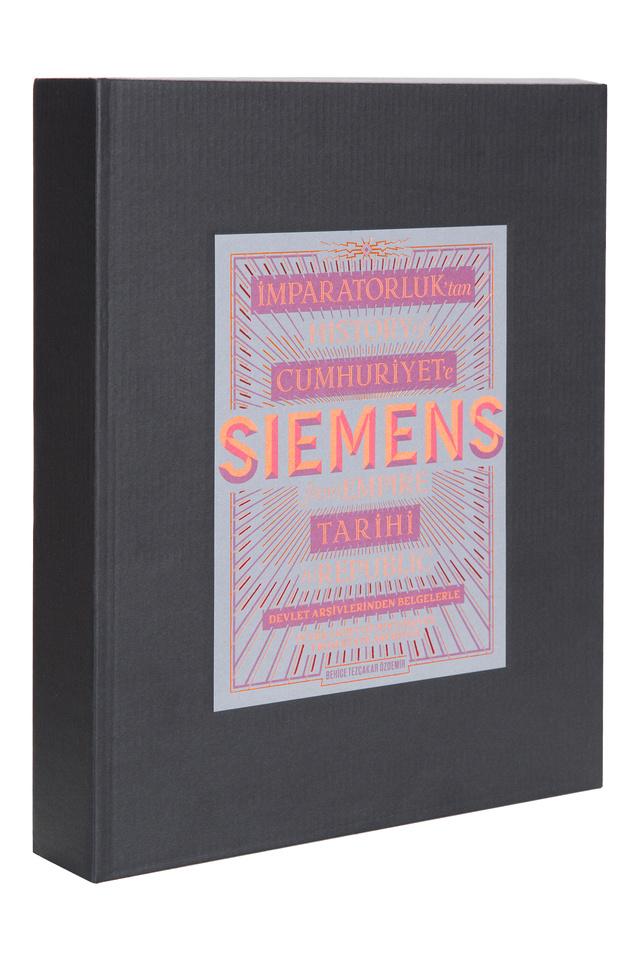 """""""İmparatorluk'tan Cumhuriyet'e Siemens Tarihi"""" kitap haline geldi"""