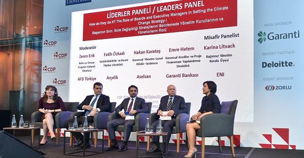 Türkiye'de şirketlerin iklim değişikliği ve su ile ilgili duyarlılığı yükseliyor