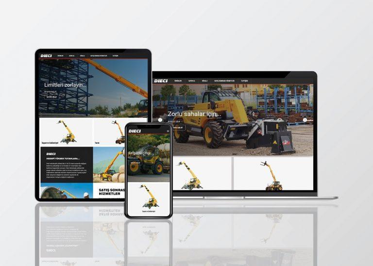 Dieci web sitesi yeni tasarımıyla yayında