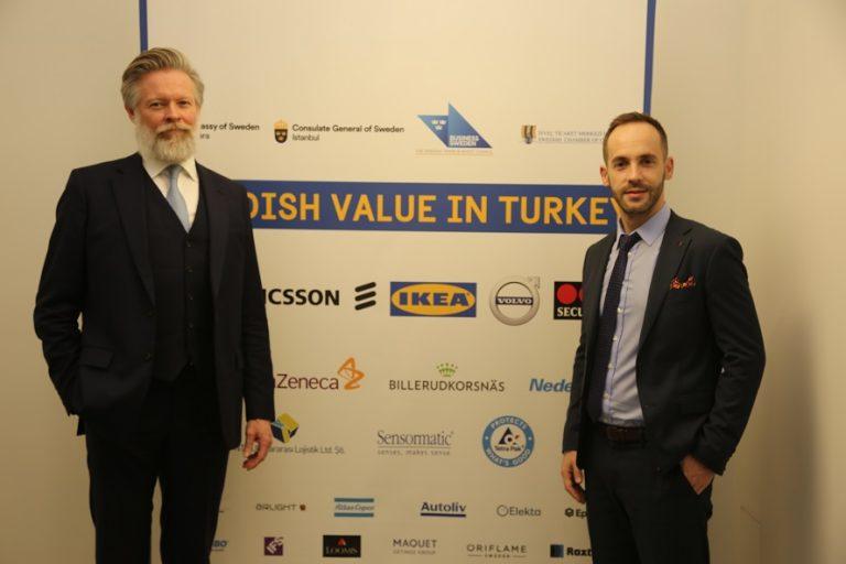 İsveçli firmalar Türk ekonomisine son 5 yılda 47.3 Milyar TL'lik katma değer sağladı