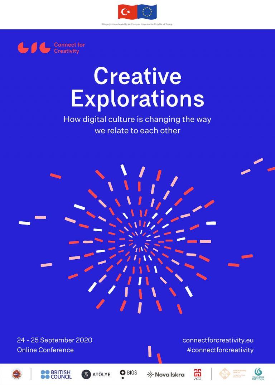 'Yaratıcı Keşifler' konferansı, 24-25 Eylül'de dijital teknolojilerin iletişim ve ilişki kurma biçimlerine olan etkisini inceleyecek