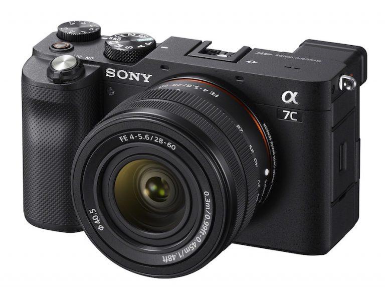 Sony Alpha 7C Fotoğraf Makinesi ve Zum Lensini Kamuoyuna Tanıttı