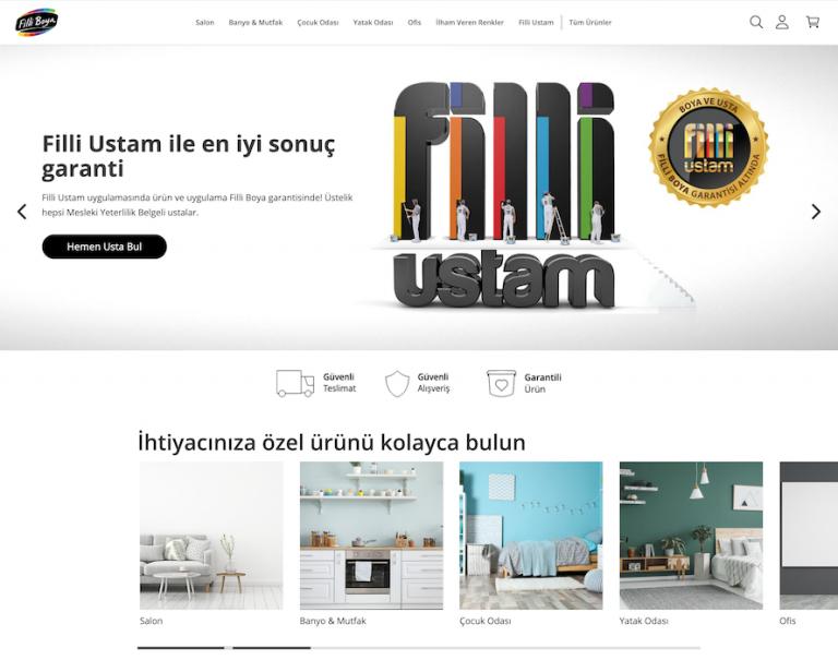 Filli Boya'da Online Satış Dönemi Başladı