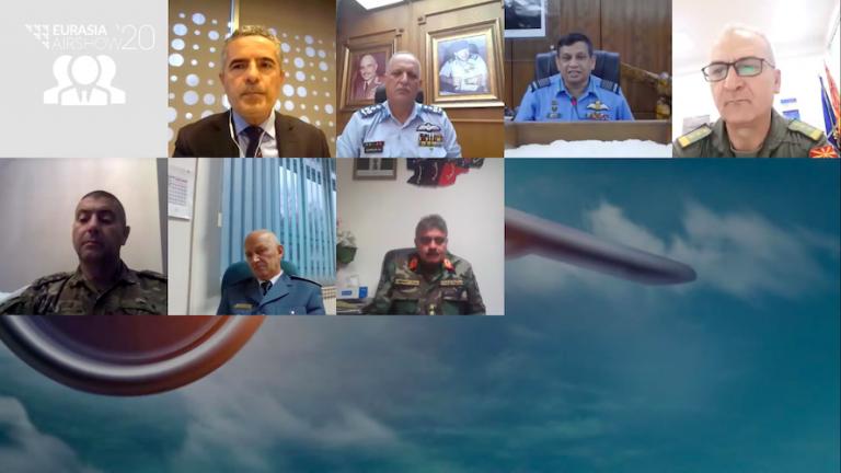 Hava Kuvvetleri Komutanları Yuvarlak Masa Toplantısı Eurasia AirShow'da
