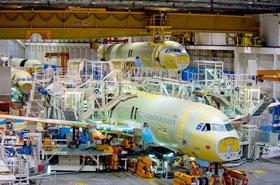 Airbus Çin'den 35 milyar dolarlık sipariş aldı