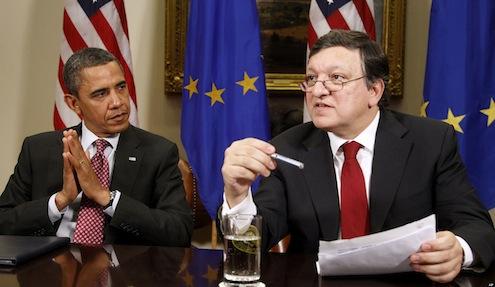 Barack Obama, Jose Manuel Barroso