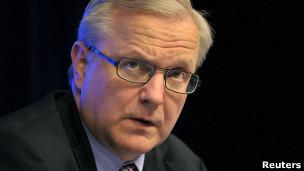 Avrupa Komisyonu'nun ekonomik ve mali işlerden sorumlu üyesi Olli Rehn
