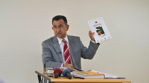 Uludağ Yaş Meyve Sebze İhracatçıları Birliği (UYMSİB) Başkanı Dr. Salih Çalı