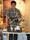 NR'daki İstanbul Helal Expo Fuarı'nda Kopi Luwak denen, dünyanın en pahalı kahvesinin sergilendiği stant yoğun ilgiyle karşılandı.