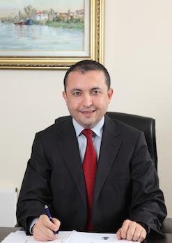 İstanbul Kimyevi Maddeler ve Mamulleri İhracatçıları Birliği (İKMİB) Yönetim Kurulu Başkanı Murat Akyüz