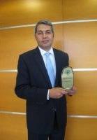 Yapı Kredi adına ödülü bankanın Alternatif Dağıtım Kanalları Genel Müdür Yardımcısı Yakup Doğan aldı.