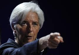 IMF Başkanı Christine Lagarde, Uluslararası Para Fonu (IMF) ve Dünya Bankası'nın yıllık ortak toplantıları öncesi ABD'li siyasileri bütçe krizini aşmaları yönünde uyardı.