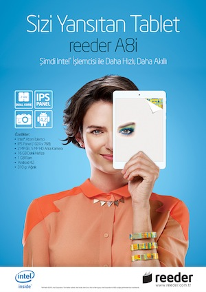 GORSELreeder'dan Intel ??lemcili Tablet!