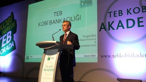 TEB KOBİ Bankacılığı Genel Müdür Yardımcısı ve Genel Müdür Vekili Turgut Boz