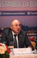 """TİM Başkanı Mehmet Büyükekşi, Türkiye İnovasyon Haftası ile yenilikçi fikir ve girişimleri Türkiye gündemine taşımayı hedeflediklerini belirterek, """"2023 yılı için 500 milyar dolar ihracat hedefimiz var. Bu hedefe ulaşmak için, yüksek katma değer yaratmaya yönelik inovasyon ve Ar-Ge fikirlerinin ticarete dönüşmesi büyük önem taşıyor"""" dedi."""