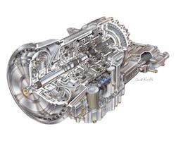2006 Allison T280R Automatic Transmission - David Kimble Illustration