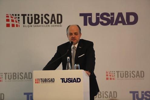 Bilişim Sanayicileri Derneği (TÜBİSAD) Yönetim Kurulu Başkanı Prof. Dr. Kemal Cılız