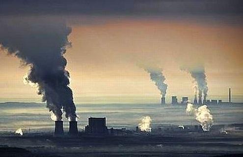 Lausitz Brown Coal Plants in Germany Braunkohlerevier Lausitz
