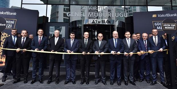 VakıfBank'ın yeni genel müdürlük yerleşkesi açıldı