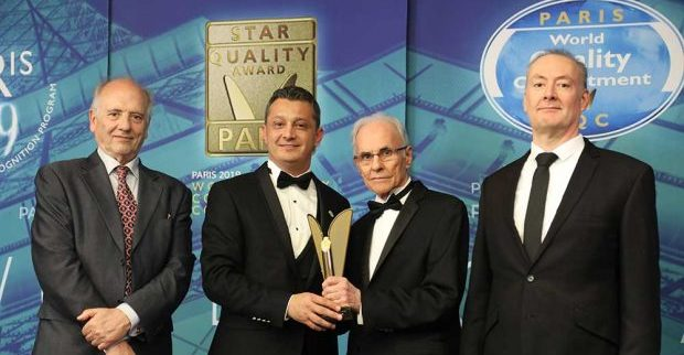 Uluslararası Mükemmellik Ödülü, Türk firmasına verildi