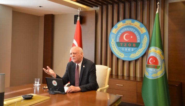 TZOB Başkanı Bayraktar: Tarımdaki sorunları çözümü için her türlü çabanın gösterilmesini bekliyoruz