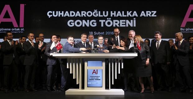 Çuhadaroğlu Metal, Borsa İstanbul'da işlem görmeye başladı