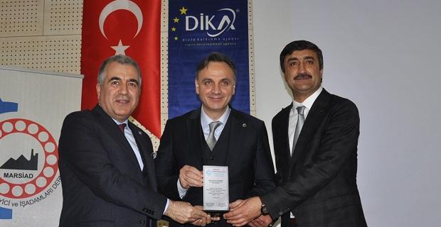 """Tekstilcilere """"Mardin'e yatırım yapın"""" çağrısı"""