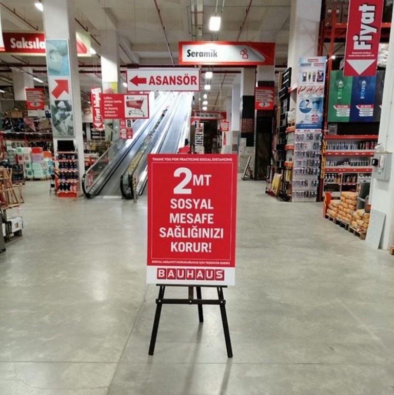 Bauhaus mağazaları yeniden açılıyor