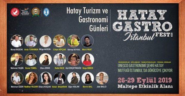"""Hatay Turizm ve Gastronomi Günleri 2019"""" başladı"""