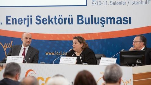 Sektörel Fuarcılık tarafından düzenlenecek ICCI 2014 – 20. Uluslararası Enerji ve Çevre Fuarı ve Konferansı öncesinde gerçekleştirilen 2'nci enerji sektör buluşmasında Konferans Programı açıklandı. 2'nci Enerji Sektör Buluşması'na İstanbul Sanayi Odası (İSO) Meclis Başkanı ve Kale Grup Yönetim Kurulu Başkanı Zeynep Bodur ve İktisadi Kalkınma Vakfı Başkanı Ömer Cihad Vardan birer konuşma yaptı.
