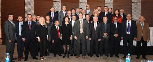 Kağıt, ambalaj, kırtasiye sektörünün 2014 yılı için yaptığı istişare toplantısına Ağaç Mamulleri ve Orman Ürünleri İhracatçı Birlikleri Sektör Kurulu Başkanı Abdullah Tever, Karton Ambalaj Sanayi Derneği Yönetim Kurulu Başkanı Ali Can Duran, Tüm Kırtasiyeciler Derneği (TÜKİD) Dış İşler Komite Sorumlusu Sevda Akay, İstanbul Ağaç Mamulleri ve Orman Ürünleri İhracatçı Birlikleri Yönetim Kurulu Muhasip Üyesi Levent Çolakoğlu konuşmacı olarak katıldı. Toplantıda ayrıca Karton Ambalaj Sanayicileri Derneği (KASAD), Basım Sanayi Eğitim Vakfı (BASEV), Basım Mensupları Derneği (BASMEN), Oluklu Mukavva Sanayicileri Derneği (OMÜD), Tüm Kırtasiyecileri Derneği (TÜKİD), İstanbul Ticaret Odası (İTO), İstanbul Sanayi Odası (İSO) ve Modern Karton A.Ş yetkilileri temsil edildi.