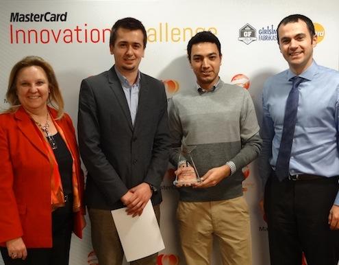 MasterCard Innovation Challenge Turkey Programı'nın Kazananı Belli Oldu.