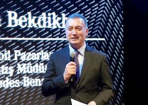 Mercedes-Benz Türk Otomobil Pazarlama ve Satış Müdürü Şükrü Bekdikhan