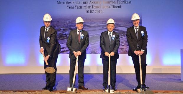 Mercedes-Benz Türk'ten Aksaray Fabrikası'na 113 milyon Avro'luk yatırım