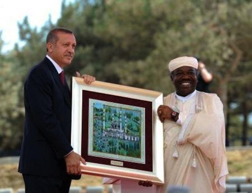 Mimar Sinan Camii açılış hediyesi