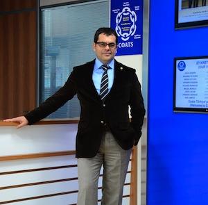 Coats İplik İK Müdürü Gürkan Özken