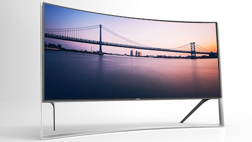 Samsung-Curved UHD-105-inch