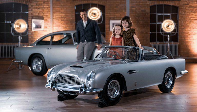 Nevzat Kaya: Aston Martin DB5 Junior Türkiye'ye geliyor