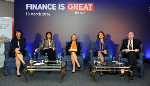 Birleşik Krallık hükümeti tarafından gerçekleştirilen 'GREAT' kampanyası çerçevesinde 17-18 Mart tarihlerinde İstanbul'da düzenlenen 'Birleşik Krallık Ticaret ve Yatırım Zirvesi'nin ikinci günde 'Teknoloji' ve 'Finans'' başlıklı iki ayrı oturumda İngiliz ve Türk şirketlerinin yöneticileri ve iş liderleri bu alanlardaki işbirliği olanaklarını değerlendirdiler.