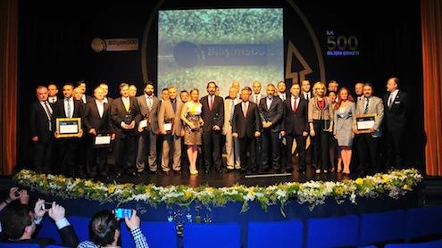 İnterpromedya tarafından bu yıl 15'incisi gerçekleştirilen Bilişim 500 araştırmasının sonuçları, 25 Haziran'da Maslak TİM Center'da düzenlenen törenle açıklandı. Tören, başta Bilgi ve İletişim Kurumu Başkanı Dr. Tayfun Acarer olmak üzere Türkiye bilişim sektörünün önde gelen isimleri ve Türkiye'de bilişime yön veren şirketlerin temsilcilerinin yoğun katılımıyla gerçekleşti.