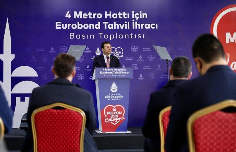 Bankaların kredi vermediği İBB, 580 milyon dolarlık Eurobond ihraç etti