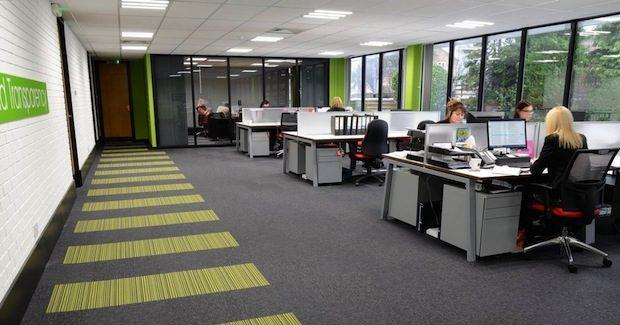 Türkiye'deki ofis zemin kaplamalarında en çok, gri, antrasit ve siyah tercih ediliyor