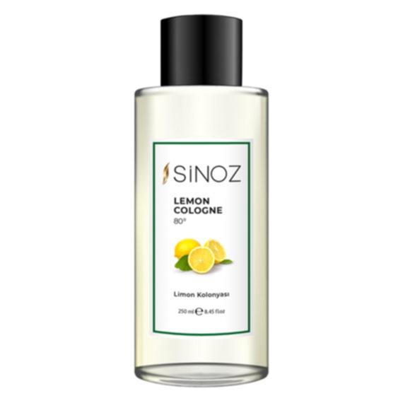 Sinoz 80° Limon Kolonyası ile bakım ve temizlik bir arada