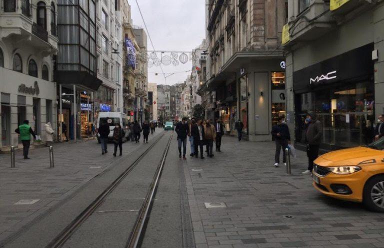 İstiklal Caddesi'ne giriş çıkışlar sayılacak