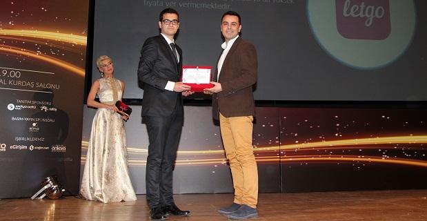 letgo'ya 'Yılın Dijital Girişimi' ödülü verildi