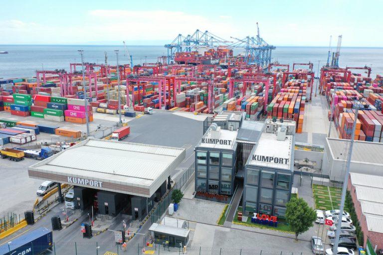 Türkiye'nin konteyner taşımacılığı haritası