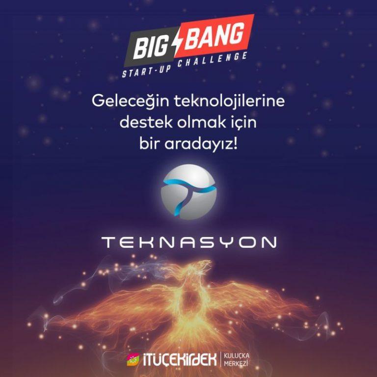 Teknasyon, İTÜ Çekirdek'in düzenlediği Big Bang Start-up Challenge'a Altın Paydaş oldu