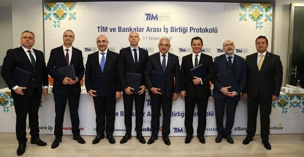 TİM 7 dev bankayla iş birliği gerçekleştirdi